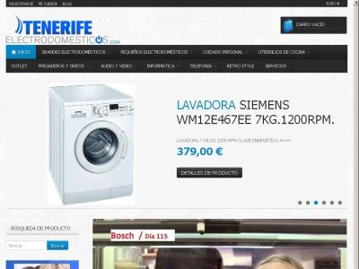 Venta online de electrodomesticos