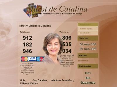 Videncia Catalina - Sin Gabinetes - Atiendo personalmente