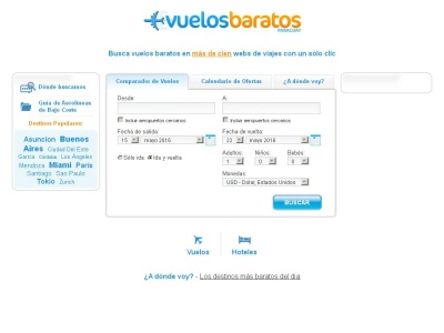 Vuelos Baratos - Paraguay