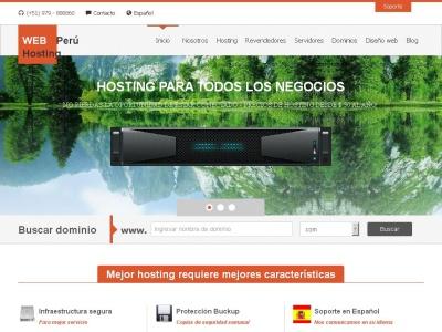 Web Hosting Peru