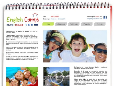www.englishcamps.net