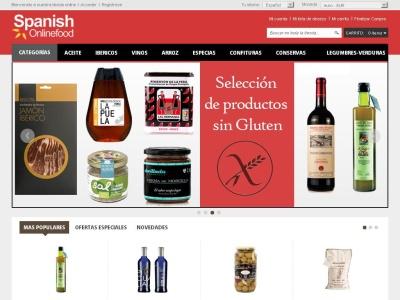 www.spanishonlinefood.com