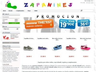 Zapateria infantil online Zapanines